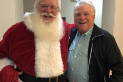 Santa with Ricky Saucier