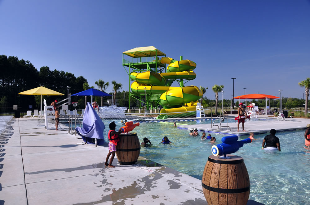 Santee orangeburg county aquatic center santee tourism for Garden hills pool hours