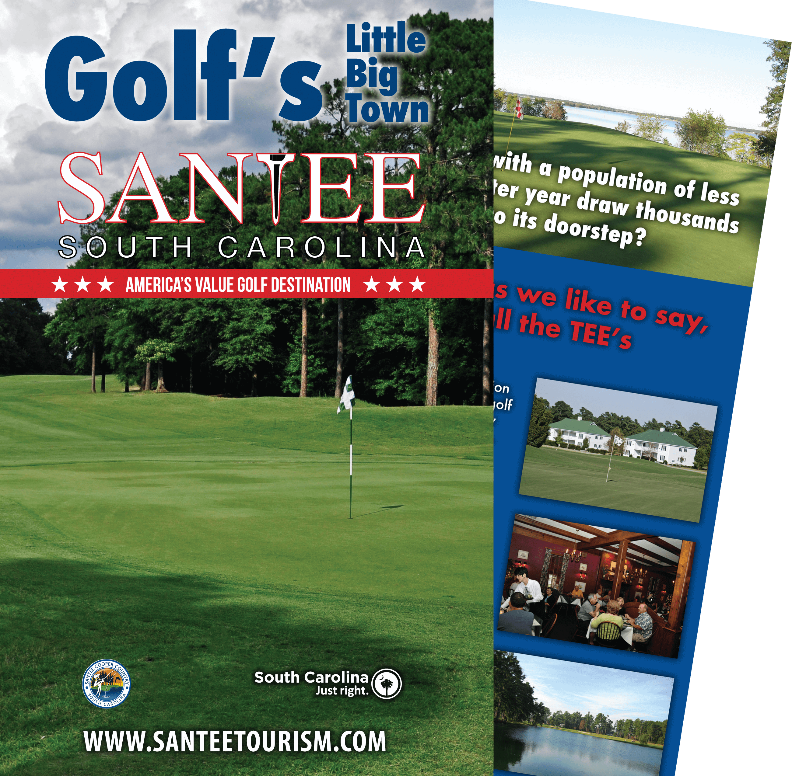 Santee South Carolina free golf guide